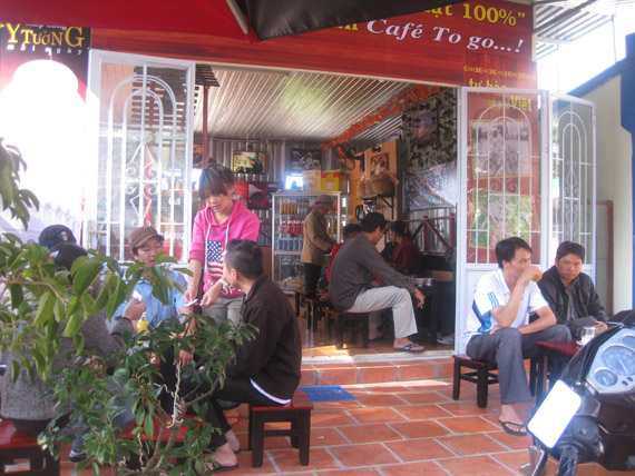 cafe nguyen chat