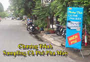 Chương Trình Sampling Cà Phê Pha Máy